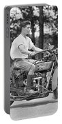 1930s Motorcycle Touring Portable Battery Charger