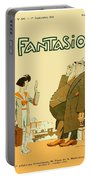 1931 - Fantasio French Magazine Cover - September - Color Portable Battery Charger