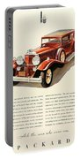 1931 - Packard - Advertisement - Color Portable Battery Charger
