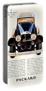 1931 - Packard Automobile Advertisement - Color Portable Battery Charger