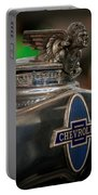 1931 Chevrolet Emblem Portable Battery Charger
