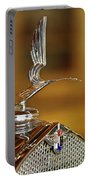 1931 Lasalle Hood Ornament Portable Battery Charger by Jill Reger