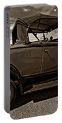 1931 Model T Ford Monochrome Portable Battery Charger by Steve Harrington