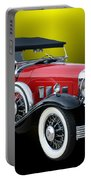 1931 Willys Knight Plaid Side Portable Battery Charger