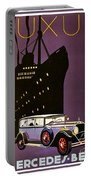 1932 - Mercedes Benz Automobile Poster - Color Portable Battery Charger