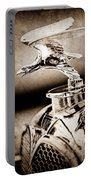 1932 Alvis Hood Ornament - Emblem Portable Battery Charger