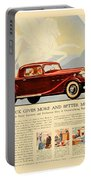 1933 - Buick Coupe Advertisement - Color Portable Battery Charger