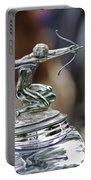 1933 Pierce-arrow 1236 2-door Convertible Coupe Hood Ornament Portable Battery Charger by Jill Reger