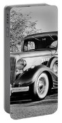 1933 Pontiac -0011bw Portable Battery Charger