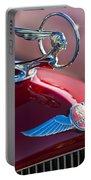 1933 Pontiac Hood Ornament 3 Portable Battery Charger