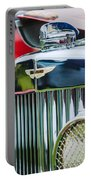1934 Aston Martin Mark II Short Chassis 2-4 Seater Grille Emblem Portable Battery Charger