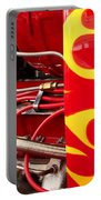 Hot Rod Art Work And Engine Portable Battery Charger