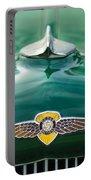 1934 Dodge Hood Ornament Emblem Portable Battery Charger by Jill Reger