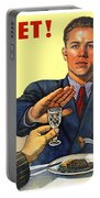 1935 - Soviet Union Anti Alcohol Propaganda Poster - Color Portable Battery Charger
