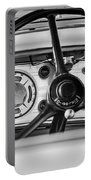 1935 Auburn 851 Supercharged Boattail Speedster Steering Wheel -0862bw Portable Battery Charger