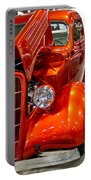 1935 Orange Ford-front View Portable Battery Charger