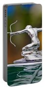 1935 Pierce-arrow 845 Coupe Hood Ornament Portable Battery Charger