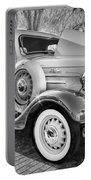 1936 Chevrolet Pick Up Truck Painted Bw   Portable Battery Charger