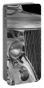 1936 Ford - Stainless Steel Body Portable Battery Charger by Jill Reger