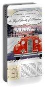 1936 - Lasalle Convertible Automobile Advertisement - Color Portable Battery Charger