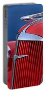 1937 Chevrolet Hood Ornament Portable Battery Charger by Jill Reger