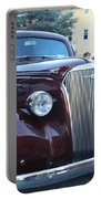 1937 Chevy Two Door Sedan Front And Side View Portable Battery Charger