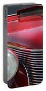 1937 Desoto Front Grill And Head Light-7289 Portable Battery Charger