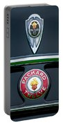 1937 Packard 1508 Twelve Convertible Sedan Emblems Portable Battery Charger