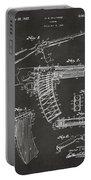 1937 Police Remington Model 8 Magazine Patent Artwork - Gray Portable Battery Charger