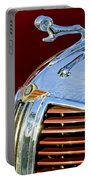 1938 Dodge Ram Hood Ornament 3 Portable Battery Charger by Jill Reger