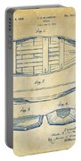 1938 Rowboat Patent Artwork - Vintage Portable Battery Charger by Nikki Marie Smith
