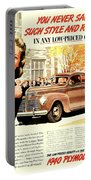 1939 - Plymouth Automobile Advertisement - Color Portable Battery Charger