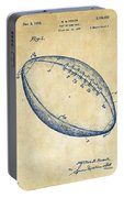 1939 Football Patent Artwork - Vintage Portable Battery Charger