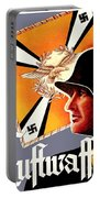 1939 German Luftwaffe Recruiting Poster - Color Portable Battery Charger