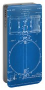 1939 Snare Drum Patent Blueprint Portable Battery Charger