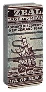 1940 Abel Tasman New Zealand Stamp Portable Battery Charger