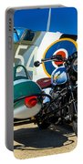 1940 Triumph And Supermarine Mk959 Spitfire  Portable Battery Charger