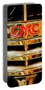 1941 Gmc Suburban Woody Wagon Grille Emblem Portable Battery Charger