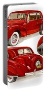1941 V 12  Lincoln Continental Portable Battery Charger