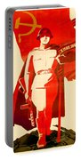 1946 - Soviet Red Army Victory Poster - Color Portable Battery Charger