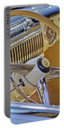 1947 Cadillac 62 Steering Wheel Portable Battery Charger by Jill Reger