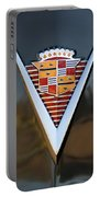 1947 Cadillac Emblem Portable Battery Charger