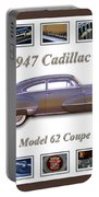 1947 Cadillac Model 62 Coupe Art Portable Battery Charger