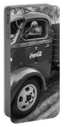 1947 Ford Coca Cola C.o.e. Delivery Truck Bw Portable Battery Charger