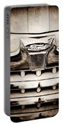 1947 Ford Deluxe Grille Grille Emblem Portable Battery Charger