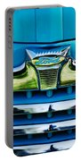 1947 Ford Deluxe Grille Ornament -0700c Portable Battery Charger
