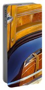 1947 Mercury Woody Reflecting Into 1947 Ford Woody Portable Battery Charger