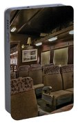 1947 Pullman Railroad Car Interior Seating Portable Battery Charger