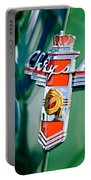 1948 Chrysler Town And Country Convertible Emblem -0974c Portable Battery Charger