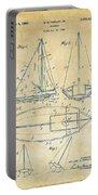 1948 Sailboat Patent Artwork - Vintage Portable Battery Charger
